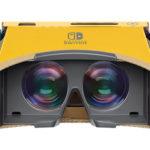 任天堂 Nintendo SwitchでVRゲームが楽しめる「Nintendo Labo: VR Kit」を発売