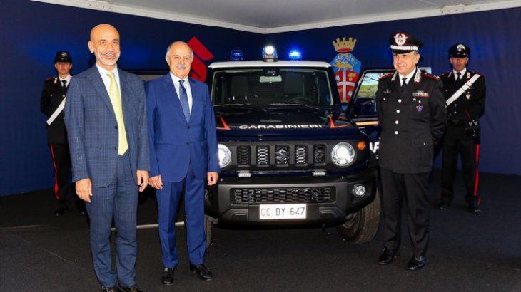 ジムニー イタリア軍事警察専用車両として採用される