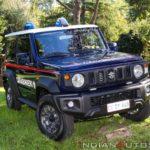 ジムニー イタリア軍事警察採用車両の動画が公開