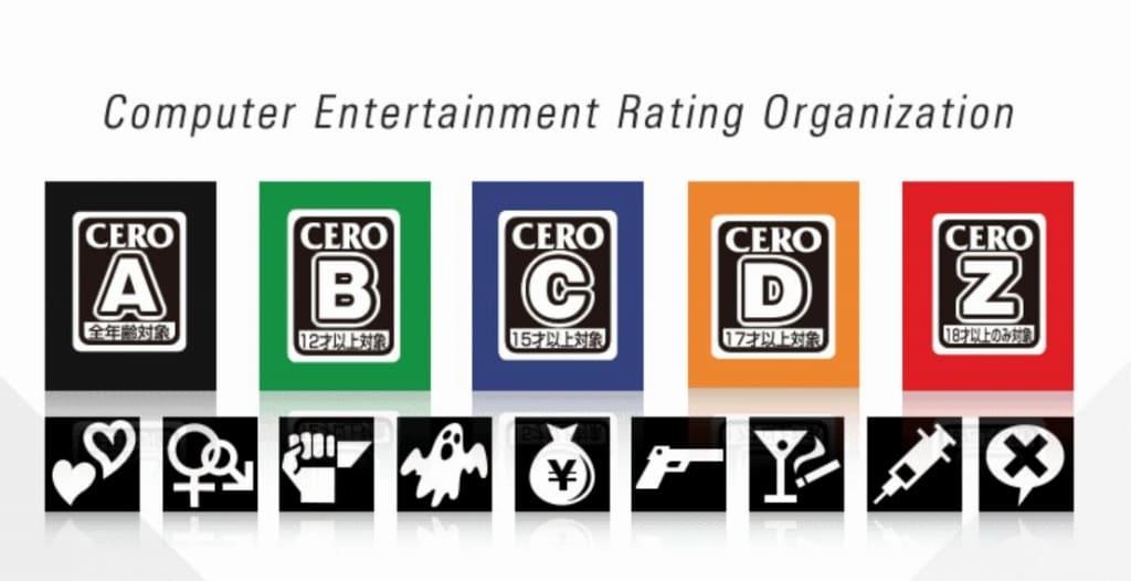 コンピュータエンタテインメントレーティング機構(CERO)