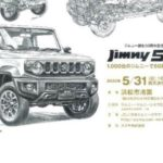 Jimny 50th anniversary event postponed due to coronavirus