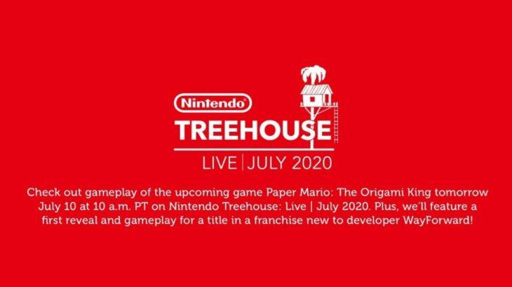 米国任天堂「Nintendo Treehouse: Live – July 2020」7月11日2時放送
