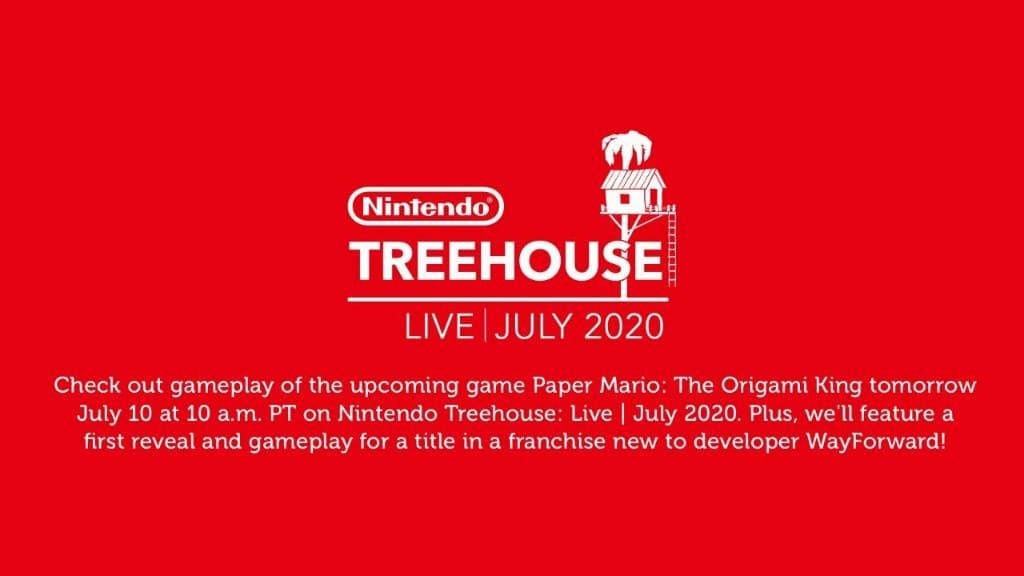 米国任天堂「Nintendo Treehouse: Live - July 2020」7月11日2時放送