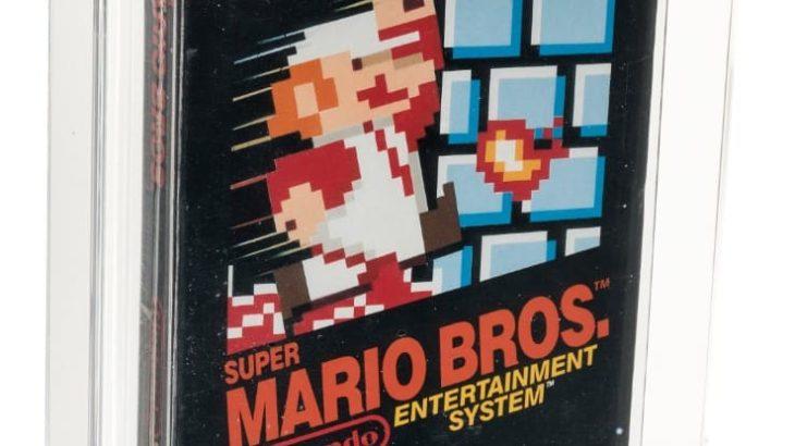 未開封の「スーパーマリオブラザーズ」オークションで11万4000ドル (約1,219万円) で落札