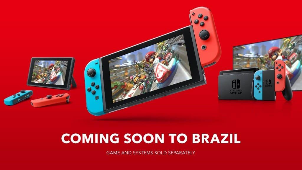 米国任天堂 ブラジルでNintendo Switchを発売へ