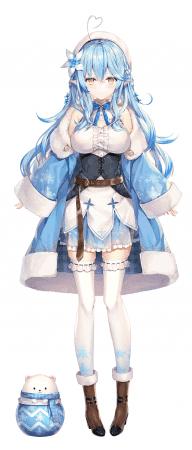 雪花ラミィ (Yukihana Lamy)
