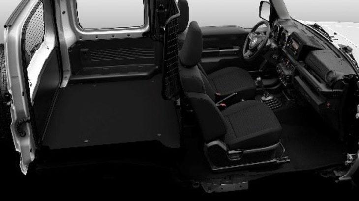 スズキ 2人乗り商用モデルの英国市場向けジムニーを発表