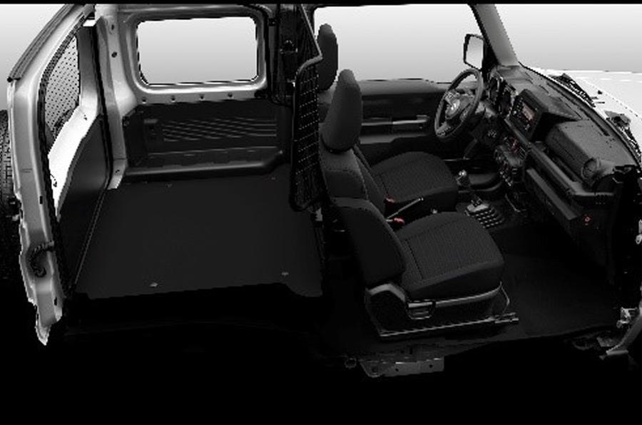 スズキ 英国で2人乗り商用モデルのジムニーを発売