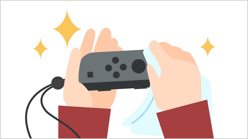任天堂 Nintendo Switchのお手入れ方法を公開 アルコール消毒の方法も