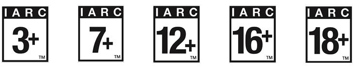 IARC汎用レーティング (IARC Rating)