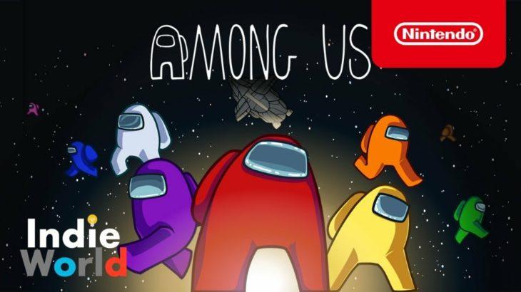 Among Us Nintendo Switch版がリリース 大ヒット記録の宇宙人狼インディーゲーム