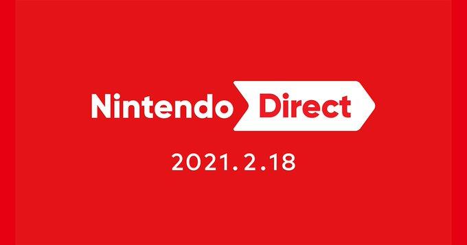 任天堂 Nintendo Direct 2021年2月18日より放送