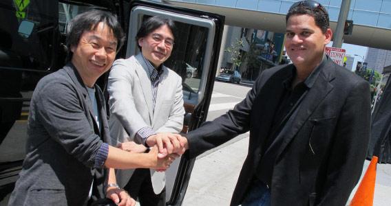 宮本茂・岩田聡・レジー (Shigeru Miyamoto / Satoru Iwata / Reggie Fils-Aime)