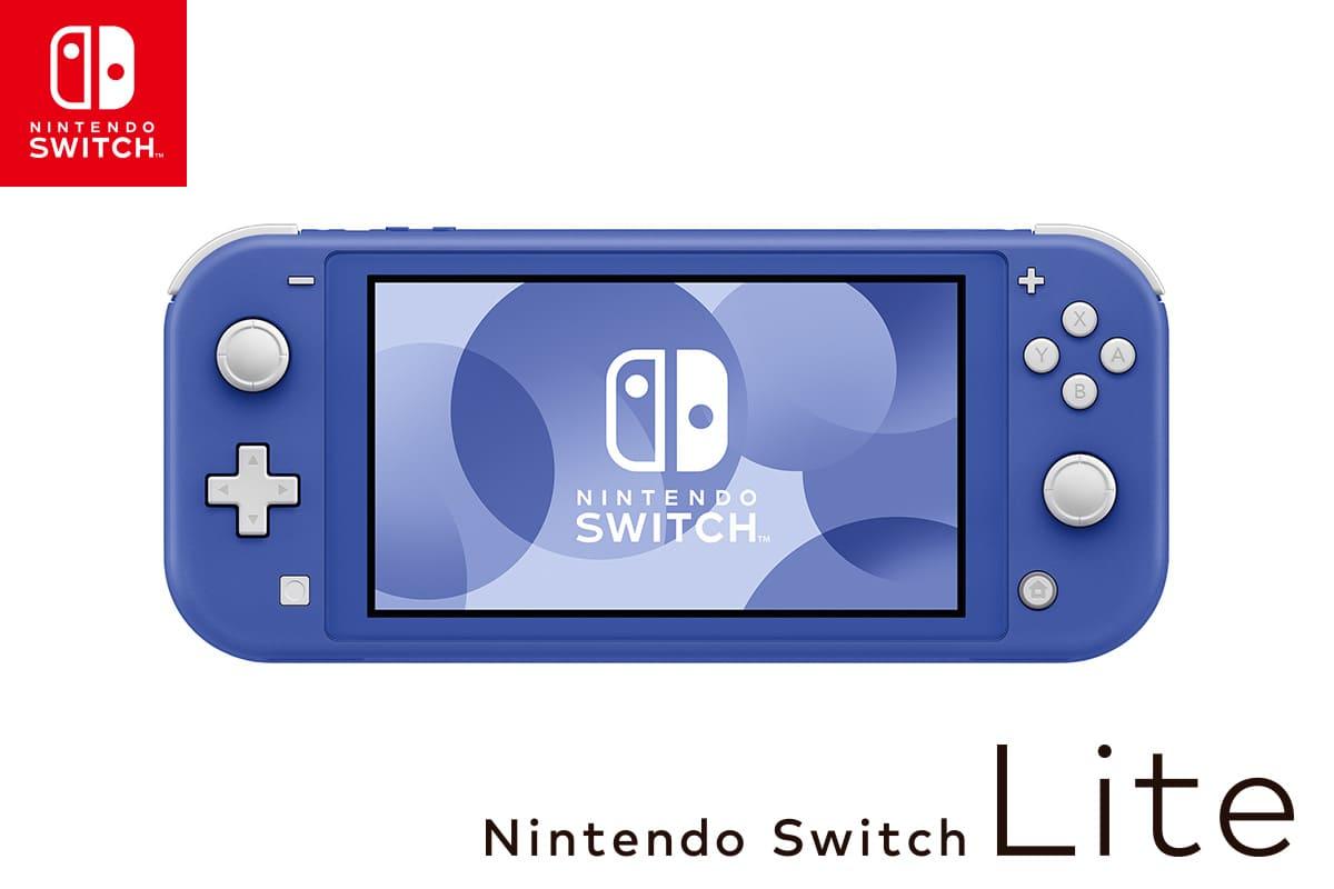 任天堂 Nintendo Switch Liteの新色「ブルー」を5月21日発売